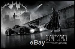 Matt Ferguson Batman Foil Variant Print Bottleneck NYCC SOLD OUT #/75 Mondo