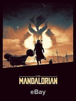 Matt Ferguson The Way Star Wars The Mandalorian Print Sold Out XX/225