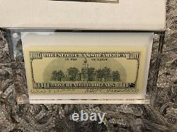 Matt Gondek $100 Bill Complexcon 2018 #107/300 Sold Out Complexcon Exclusive