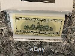 Matt Gondek $100 Bill Complexcon 2018 #223/300 Sold Out Complexcon Exclusive