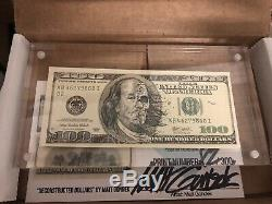 Matt Gondek $100 Bill Complexcon 2018 Limited Edition 132/300 Sold Out Exclusive