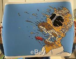 Matt Gondek Deconstructed Homer Simpsons Art Print Sold Out FAST SHIP