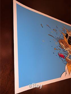 Matt Gondek Deconstructed Homer Simpsons SIGNED Art Print Sold Out