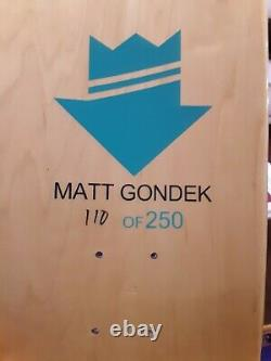 Matt Gondek Skate Deck Set 3 ComplexCon Exclusive Only 250 Made Sold Out