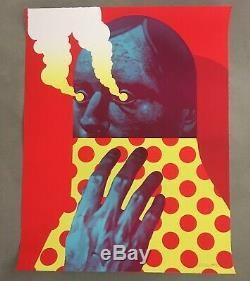 Michael Reeder Last Gasp Print (Red) In Hand /99 Sold Out