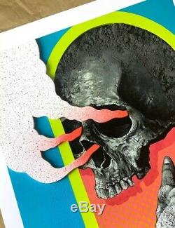Michael Reeder RID Art Print Poster #/325 Sold Out! Whatson kaws primal chant