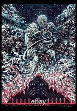 Miles Tsang Kanye West Glow In Dark Signed Screen Print #20/150 Sold Out