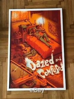 Mondo Dazed and Confused limited edition poster by James Flames 131/325 SOLD OUT