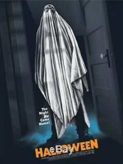 Mondo Halloween Poster Gary Pullin 18x24 Rare Limited Ed. /250 Sold Out 2017