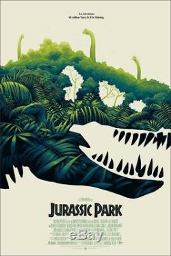 Mondo Jurassic Park Poster Phantom City Creative SOLD OUT