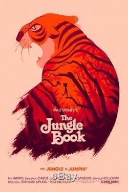 Mondo Olly Moss Jungle Book Rare, Disney, Sold OUT