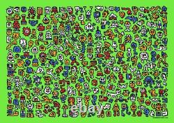 Mr. Doodle Alien Town Print Limited Edition x/300 Sold Out Not Banksy