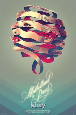 Mulholland drive by Kevin Tong Variant Sold Out Mondo Print