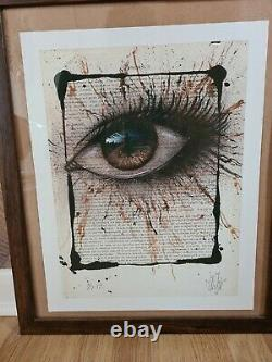My Dog Sighs Printers PROOF, sold out includes invader banksy whatson postcard