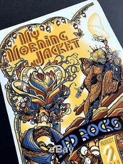 My Morning Jacket Red Rocks 2019 POSTER Print Night 1 SOLD OUT