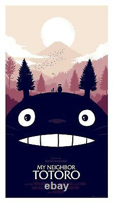 My neighbor Totoro Regular by Olly Moss Rare sold out Mondo