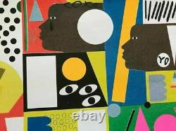 NINA CHANEL ABNEY Limited Edition Print Street Exhibition Poster RARE SOLD OUT