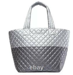 NWT MZ Wallace LIMITED EDITION Tin/Steel Metallic MEDIUM Metro Tote SOLD OUT