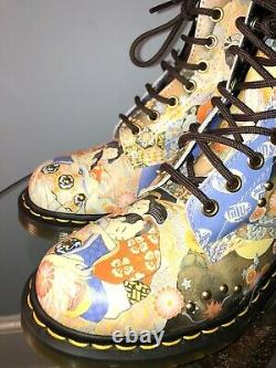 New Dr Martens Boots Size 6 UKIYOE VERY RARE Japan Art Sold Out! Beautiful