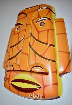 New Limited-Edition 7/200 SOLD-OUT Shag Tiki Art Mask Wall Hanging The Crag