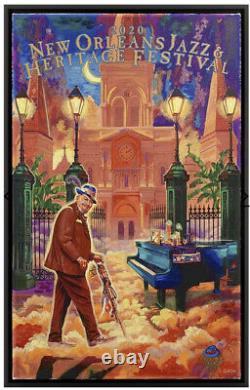 New Orleans Jazz Fest Canvas C-MARQUE 2020Dr. JohnScott GuionSold Out 218/350