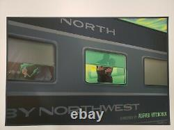 North by Northwest Variant by Laurent Durieux Rare sold out Not Mondo
