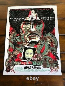 OLDBOY (Korean Variant) by Rhys Cooper Limited Edition Sold Out Screen Print