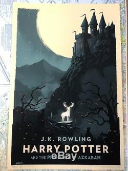 OLLY MOSS Harry Potter and the Prisoner of Azkaban Print Poster SOLD OUT Limited