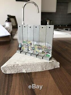 Original BANKSY Walled Off Hotel Sculpture WITH COA Rare 6 Section NOW SOLD OUT