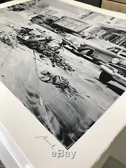 Paco Pomet Front page. Mint, Banksy, Limited, Sold out, Miller, Invader, Retna