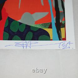 Paul Insect 2021 SIGNED Print SOLD OUT Allouche Gallery Postcard Show Card