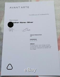 Paul Insect Together Alone Silver XX/75 sold out. Mint condition signed