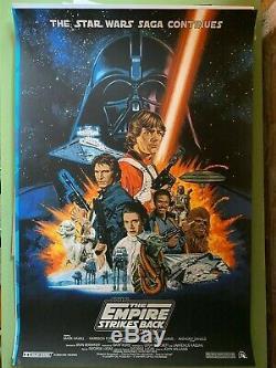 Paul Mann Star Wars Empire Strikes Back poster Mondo artist sold out rare