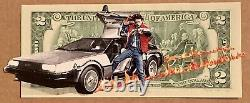 Penny Uk Street Artist 2 Dollar Back To The Future Print Edition Sold Out