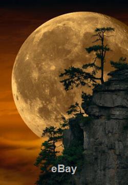 Peter Lik Moonlit Dreams 1M framed, Dark Ash Frame Limited Edition, SOLD OUT