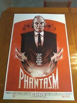 Phantasm Phantom City Creative Screen Print Mondo Rare Sold Out Poster