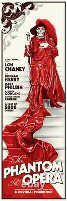Phantom of the opera by Phantom City Creative Red death Sold Out Mondo