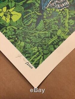 Phish Gorge George WA 2018 Print (Sold out) Landland Poster Mint Signed & #d