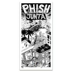 Phish Junta LIMITED POSTER -Jim Pollock- SOLD OUT 1989