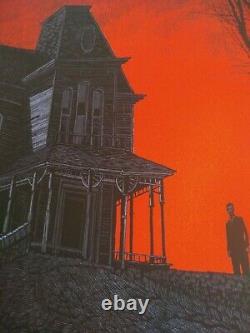 Psycho Daniel Danger Mondo Alfred Hitchcock Screen Print Sold Out Rare