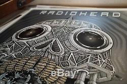 Radiohead Golden Pyramids Poster Santa Barbara Bowl 2017 Emek Sold Out Mint