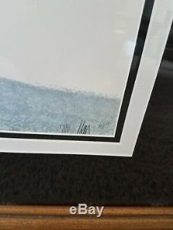Rare P. Buckley Moss X- Large Print 2x Signed Winter Fellowship Sold Out Geese