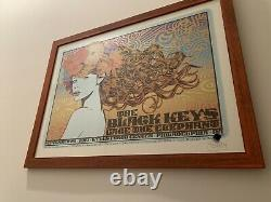 Rare Sold Out Chuck Sperry Black Keys Poster Low Number Framed