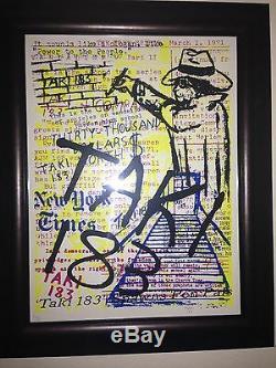 Rare Taki 183 NYC Graffiti Legend SOLD OUT Art Print