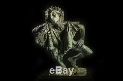 Richard Macdonald La Fuite du Temps Bronze Sculpture Signed Limited Ed. Sold Out