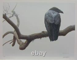 Robert BATEMAN Lone Raven Limited Edition art print sold out at publisher