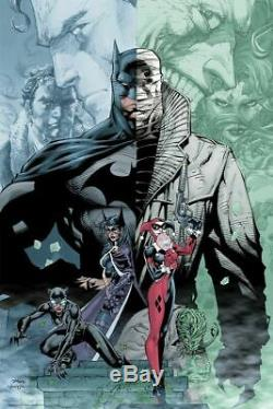 SDCC 2019 Exclusive Mondo DC Batman Hush Jim Lee Sold Out #39/275 IN HAND