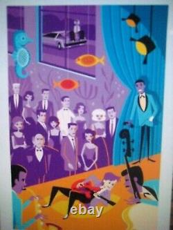 SHAG josh agle McFLY BACK TO THE FUTURE / SOLD OUT