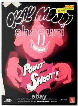 SHOEUZI X Okay Mojo Point N Shoot LE/100 Resin Collectible Figure SOLD OUT