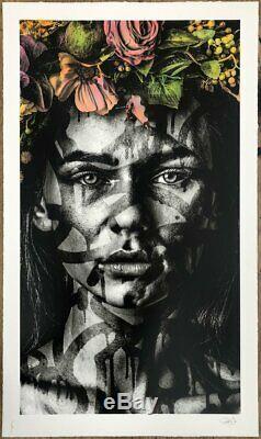 SNIK'Transcend' Hand-Embellished x/60 Sold Out Preorder. Whatson banksy retna